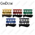 CanDo Digi-Flex Parmak Çalıştırıcı 5'li Set (Sarı-Kırmızı-Yeşil-Mavi-Siyah)