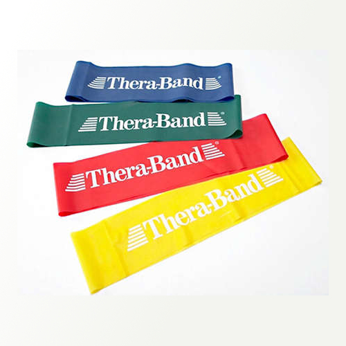 Theraband Gold Band Cando by the foot Resistance  Physical Therapy Exercise
