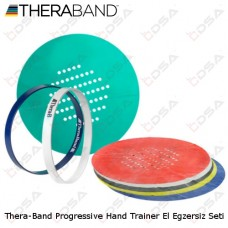 Thera-Band Progressive Hand Trainer El Egzersiz Seti